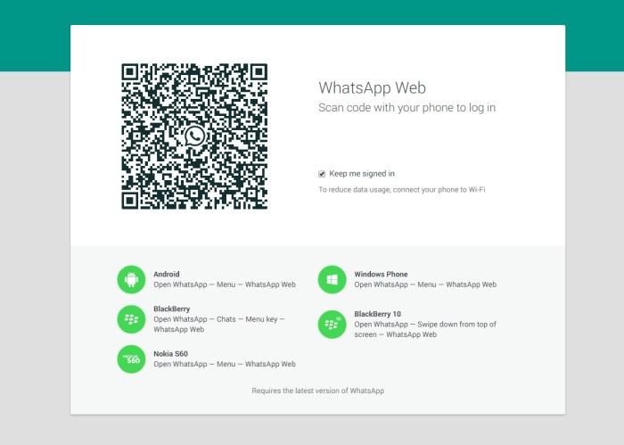 Esta es la pantalla donde pueden usar el WhatsApp, solo tienes que tener la última actualización de la APP y desde la opción web escanear y automaticamente podrán utilizarlo en la web... Te lo Contaron?
